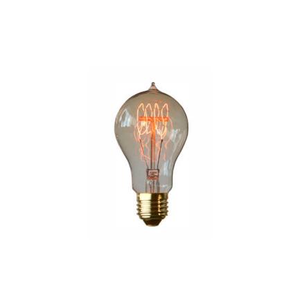 Koltrådslampa päron 60W