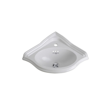 Handfat Corner basin, 1 hål