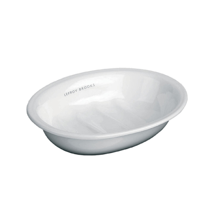 Tvålkopp LB-4516 Vitt Porslin