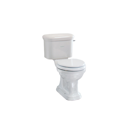 WC Belle Aire, komplett exkl sits. Spolspak Krom