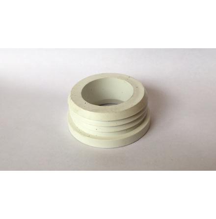 Bussning vit PVC 38/52 mm