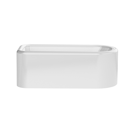 Saker 1725x808mm Single Ended Bath - Gloss White