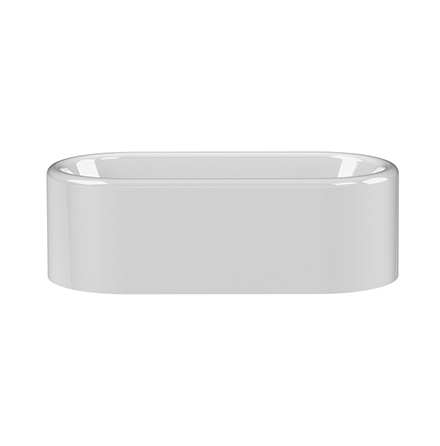 Saker 1918x908mm Double Ended Bath - Gloss White
