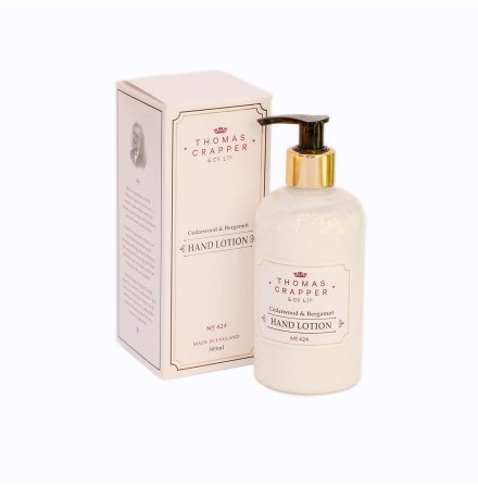 Hand Lotion Cedar Wood & Bergamot, 300 ml