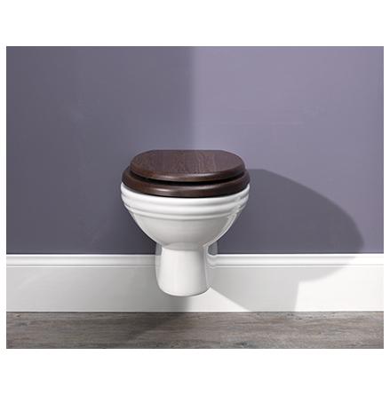 -45-52% Utförsäljning - Vägghängd WC, klassisk stil!