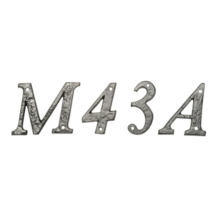 """""""Husnummer"""" typsnitt 1979, 152 mm"""