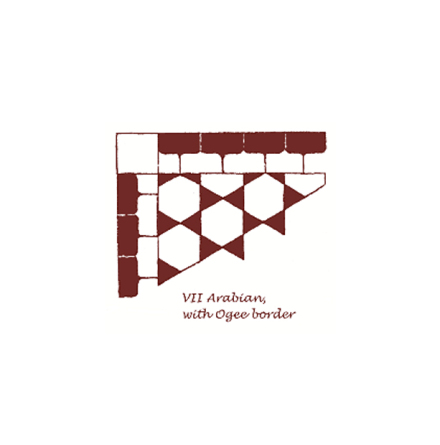 Tegelgolv - Arabian