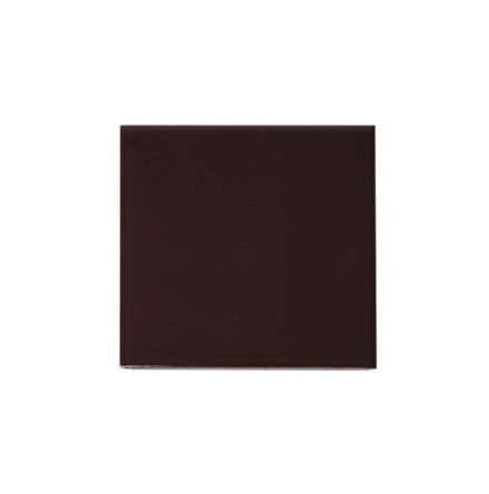 Slätt kakel 152x152 mm, Claret