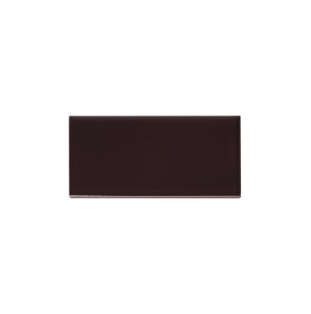 Slätt kakel 152x76 mm, Claret