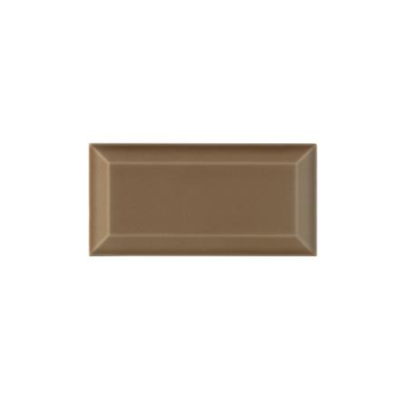 Kakel med fasad kant (slaktarkakel) 150x75x10 mm, Mocha