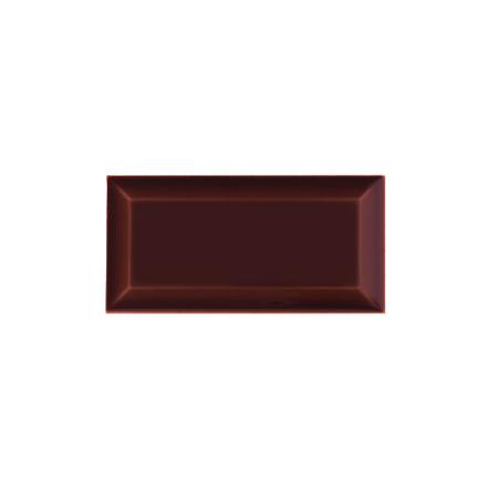 Kakel med fasad kant (slaktarkakel) 150x75x10 mm, Burgundy
