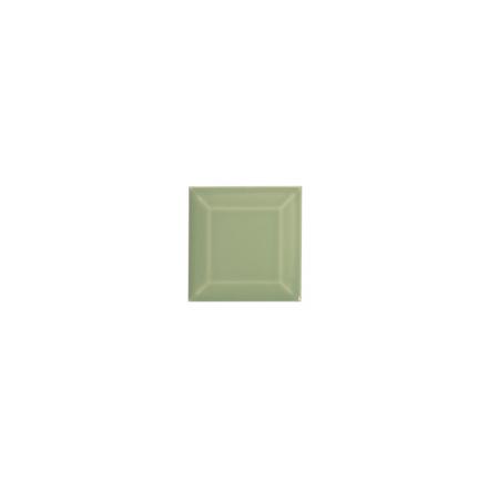 Kakel med fasad kant (slaktarkakel) 75x75x10 mm, Mint