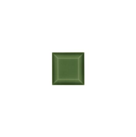 Kakel med fasad kant (slaktarkakel) 75x75x10 mm, Apple green