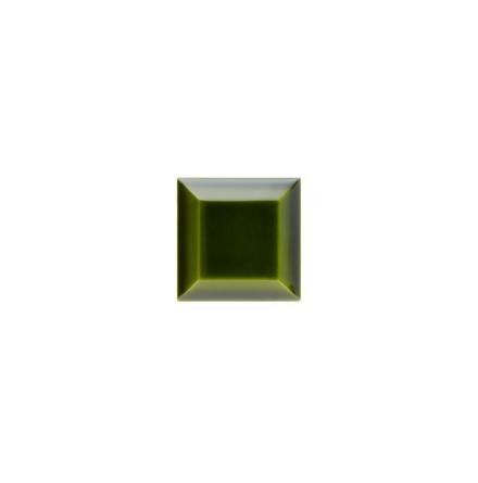 Kakel med fasad kant (slaktarkakel) 75x75x10 mm, Jade