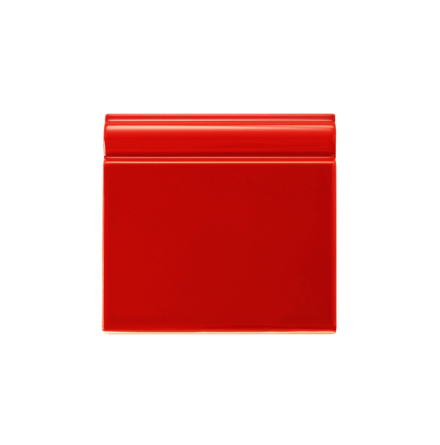 Golvsockel 152x152 mm, Red