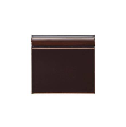 Golvsockel 152x152 mm, Teapot Brown