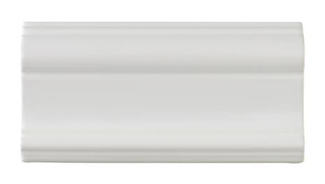 Bröstlist Classic 152x76 mm, Vit