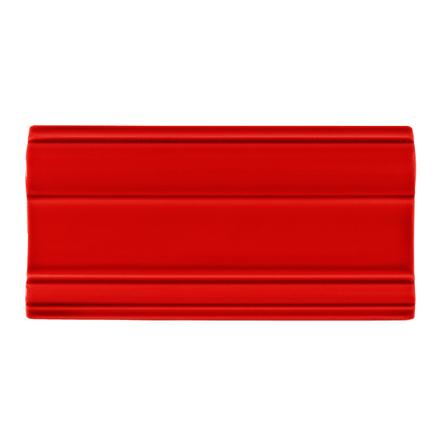 Bröstlist Classic 152x76 mm, Red