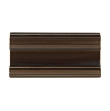 Bröstlist Classic 152x76 mm, Chocolate