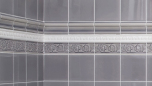 List ´Crown´ 152x34 mm, Burgundy