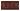 Kakel list LEAF 152x76 mm, Burgundy