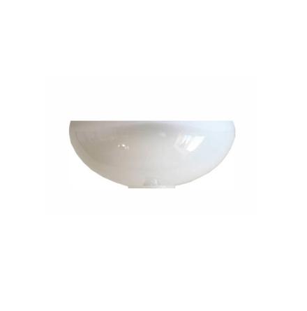 Hålskärm Opalvit 75x175mm